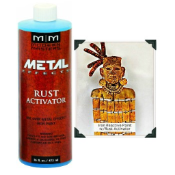 Modern Masters PA904-16 Metal Effects Rust Activator ~ 16 oz